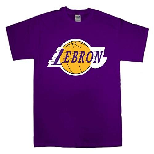 Purple Los Angeles Lebron Logo T-Shirt Toddler