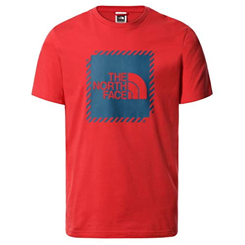 THE NORTH FACE Herren Graphic 2 T-Shirt, Rococco Red, L