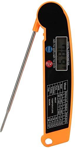 SLL Casa La Pantalla LCD se pliega fácilmente, Lea fácilmente el termómetro...