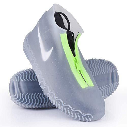 NEWKIBOU Cubierta del Zapato Impermeable Portátil con Cremallera Lluvia Nieve Protección contra el…