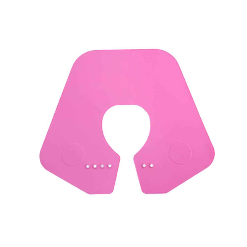 Brand new Translated Hair Cutting Collar Silicone Neck Apron Adjustable Cape for
