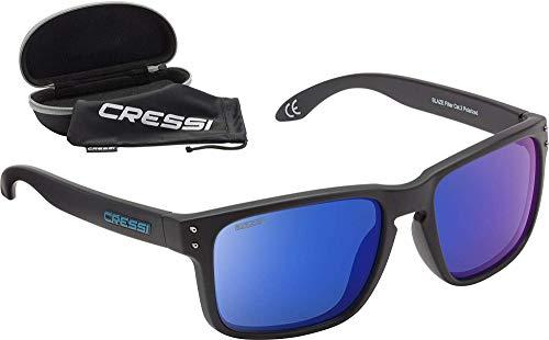 Cressi Blaze Sunglasses - Occhiali da Sole con Lenti HTC Polarizzate e Idrorepellenti Unisex Adulto