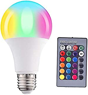 5W RGB Changing Color LED Spot Light Bulb Flood Lamps, Remote control