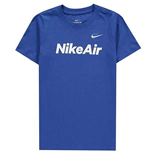 Nike Air MAX 2 Camiseta, Infantil, Azul, Blanco, Extra-Small