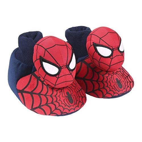 Cerdá Zapatillas De Casa 3D Spiderman, Niños, Rojo (Rojo C06), 23/24 EU
