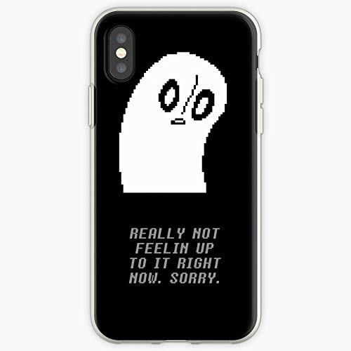 CHASEOKHWAN Napstablook iPhone Case Undertale Phone Case for All iPhone, iPhone 11, iPhone XR, iPhone 7 Plus/8 Plus, Huawei, Samsung Galaxy