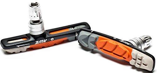 AWE® AWELite™ Cartucho de esqueleto V las zapatas de freno gris/naranja/blanco 72mm
