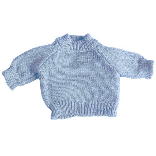 Mumbles - Pull pour Peluche (M) (Bleu pâle)