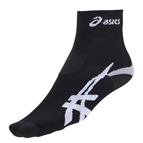 Asics 321733 - Calcetines para correr (talla 35-38), color negro