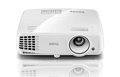 BenQ MX570 Proiettore 3200 ANSI Lumen, DLP XGA, 1024 x 768, Compatibilitá 3D, Contrasto 13000:1, Bianco [Vecchio Modello]