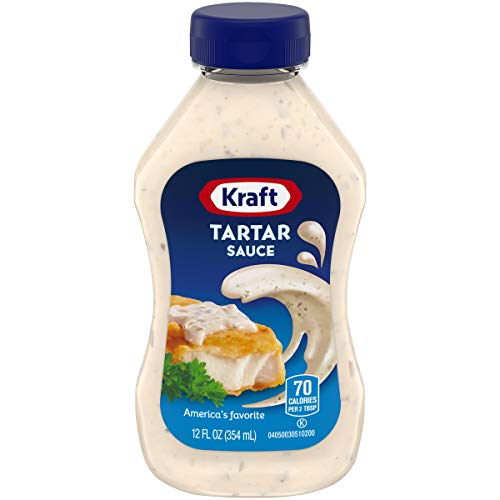 Kraft Tartar Sauce (12 oz Bottles, Pack of 6)