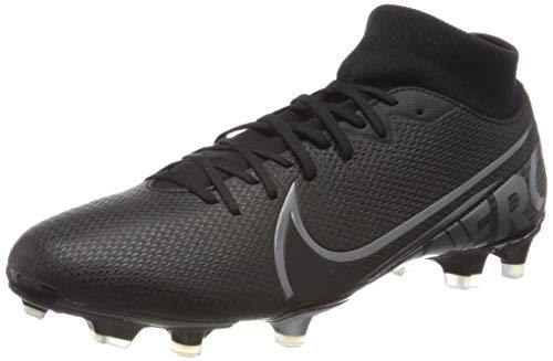 Nike Unisex-Erwachsene Superfly 7 Academy FG/MG Fußballschuhe, Mehrfarbig (Black/MTLC Cool Grey-Cool Grey 001), 44 EU