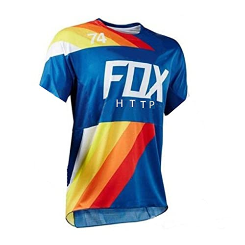 Racing Downhill Jersey Mountainbike Radtrikot Crossmax Shirt Ciclismo Kleidung Santa Cruz MTB Motorrad Trikot Herren-XXXL