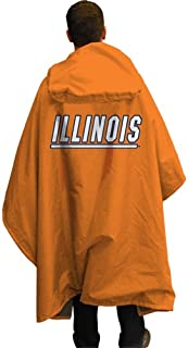 NCAA Illinois 3 in 1 Rain Poncho