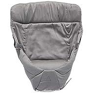 Ergobaby Easy Snug Infant Insert, Grey, Premium Cotton