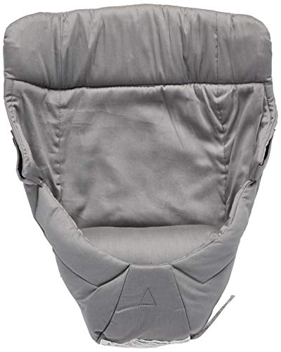 Ergobaby Easy Snug Infant Insert, Grey, Premium Cotton