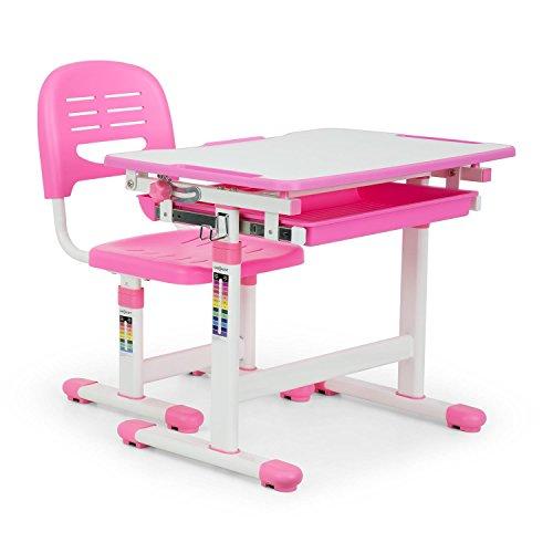 Oneconcept Annika Set de Escritorio para niños ergonómico, Compuesto por un Escritorio...