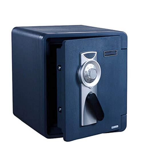 Laishutin Gabinete Cajas Fuertes Prueba de Fuego Home Office Seguro antirrobo mecánico código de Bloqueo Pequeño En la Pared a Prueba de Agua Segura para Salas de Estudio y oficinas