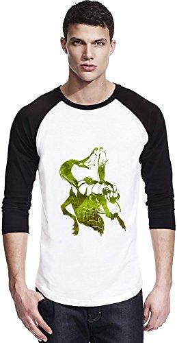 Dota 2 Hero Venomancer Unisex Baseball Shirt Large