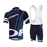 logas Los Hombres de Bicicletas Club Equipo de Ciclismo Jersey Ropa Camisas Pantalones Cortos de Sistema del Desgaste...