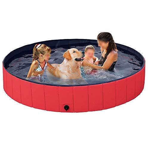 Yaheetech Foldable Pet Bath Pool