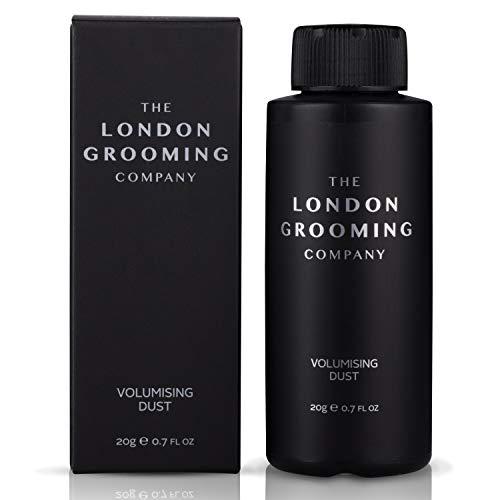 The London Grooming Company Mattes Fülle- und Strukturgebendes Styling Haarpuder für Männer – 20g Schüttelflasche