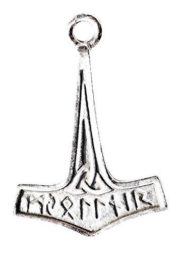 ThorsHammer-fürinnereStärke-Troveof Valhalla,eineSammlungvonauthentischenViking AnhängerHalskettenbeendetebleifrei-Zinn