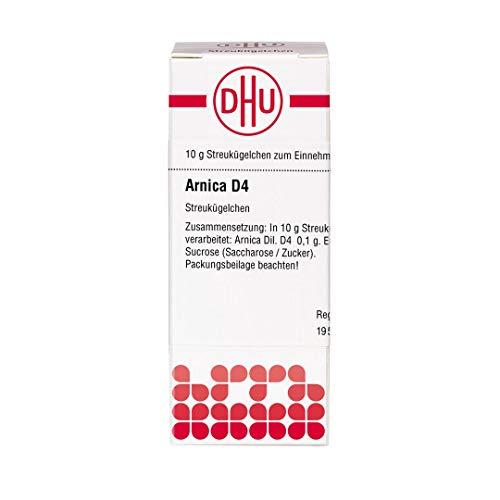 DHU Arnica D4 Streukügelchen, 10 g Globuli