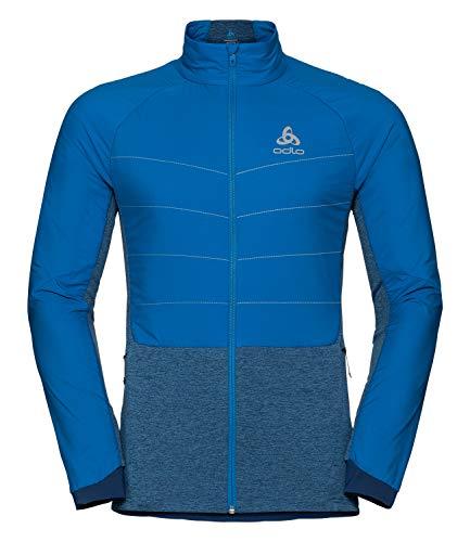 Odlo Herren Jacket Millennium S-Thermic Jacke, Directoire Blue, L