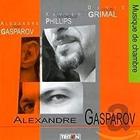 Alexandre Gasparov Musique de chambre