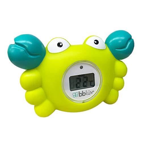 bblüv - Kräb 3 en 1 termómetro de baño y juguete de baño - Fahrenheit