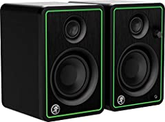 """Professional studio-quality sound Front-facing headphone jack auto-defeats speaker output Flexible inputs - 1/4"""", 1/8"""", and RCA 50 watts of clean, articulate stereo sound Hookup cables included"""