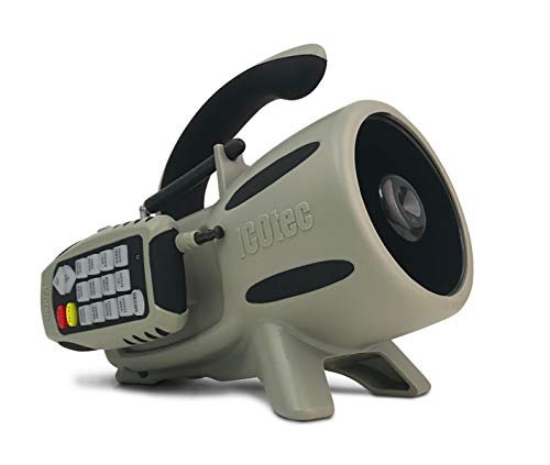 Icotec GEN2 GC300 Electronic Predator Call - Play 2 Sounds Simultaneously - Attracts Multiple Species - Fixed Sounds (Not Programmable)
