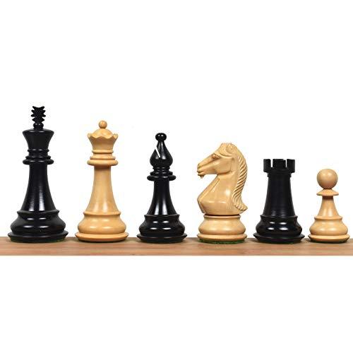 RoyalChessMall - Juego de ajedrez Staunton Serie Majestic de 4