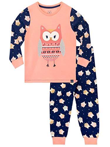Harry Bear Mädchen Eule Schlafanzug Mehrfarbig 128