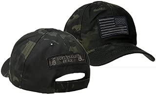 Condor Multicam-Black Tactical Patch & Hat Bundle (2 Patches + Hat)