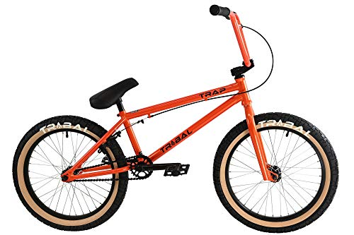 Tribal Trap BMX - Trampa para bicicleta, color naranja