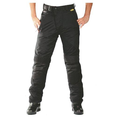 Roleff Racewear Motorradhose Textil/Taslan, Schwarz, DXXL