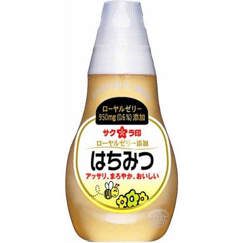 加藤美蜂園 サクラ印 ローヤルゼリー添加はちみつ 150g×2 [7262]