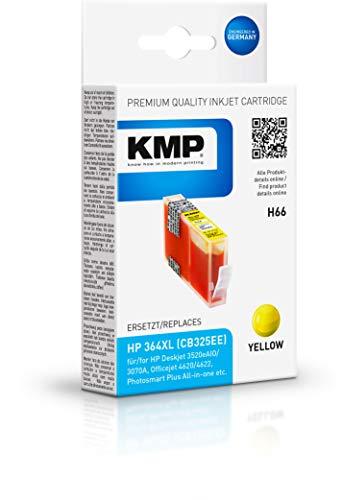KMP Druckerpatronen Kompatibel Hp 364 (Gelb)