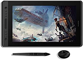 HUION KAMVAS Pro 16 Graphic Drawing Tablet with Screen Full-Laminated Graphics Monitor Pen Display with Battery-Free...