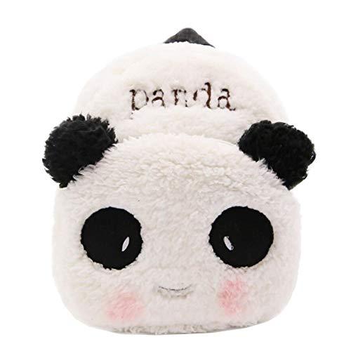 Panda Sac à dos pour tout-petit Sac pour enfants Petit sac de voyage à motif animalier pour bébé fille garçon 1-3 ans Cadeau de noel cadeau d'anniversaire D