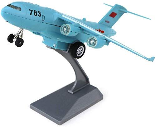ADLIN El modelo atacante aviones Escala Diecast Modelo de presentación con el soporte for la decoración o regalo, regalos de juguetes for niños, sala de estar Escritorio Decoración, Regalo de Mejor ni
