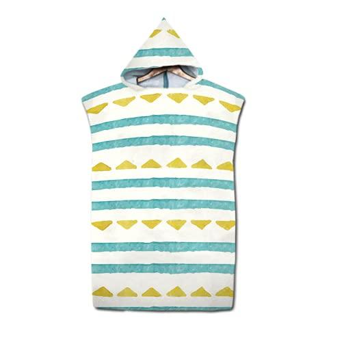 Sochampion Toalla cambiante, con capucha, adecuada para playa, natación, surf, toalla de playa para adultos