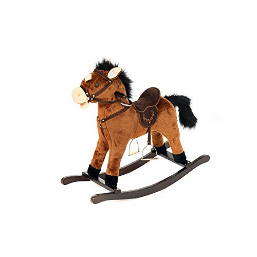 Oypla Childrens Kids Toy Rocking Horse with Galloping & Neighing Sound
