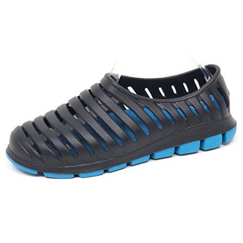 E8044 (Without Box) Sneaker uomo Rubber Black CCILU Cell Sandal Slip on Shoe Man [9 US-42 EU]