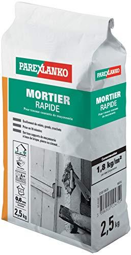 PAREXLANKO Mortier à prise rapide, tous types de scellement et de réparation. 2,5Kg