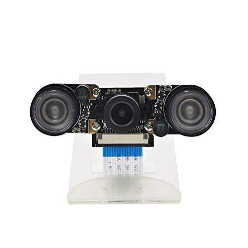 ZJF Componentes de la computadora Accesorios eléctrico La cámara de visión Nocturna de 130 ° 500W Pixel se Ajusta a RPI 4B / 3B + / 3B