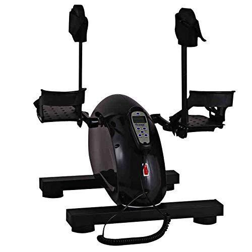 Bewegungstrainer, Arm- und Beintrainer, Magnetisches Heimtrainer Stationäres Pedal-Training Glatt und leise mit multifunktionalem LCD-Monitor