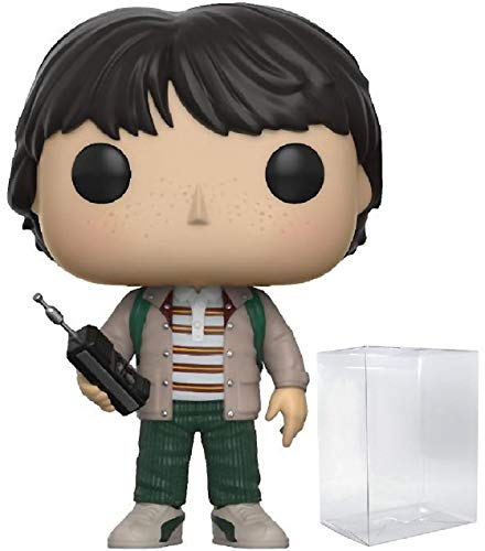 Funko Pop! Stranger Things - Mike Wheeler with Walkie Talkie Pop! Vinyl Figure (Includes Compatible Pop Box Protector Case)